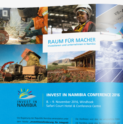 Botschaft der Republik Namibia – Invest in Nambia Conference 2016