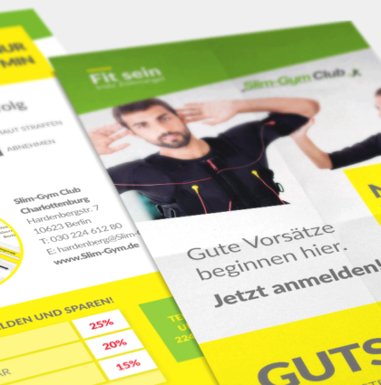 Slim-Gym Club | Fitnessstudio mit EMS